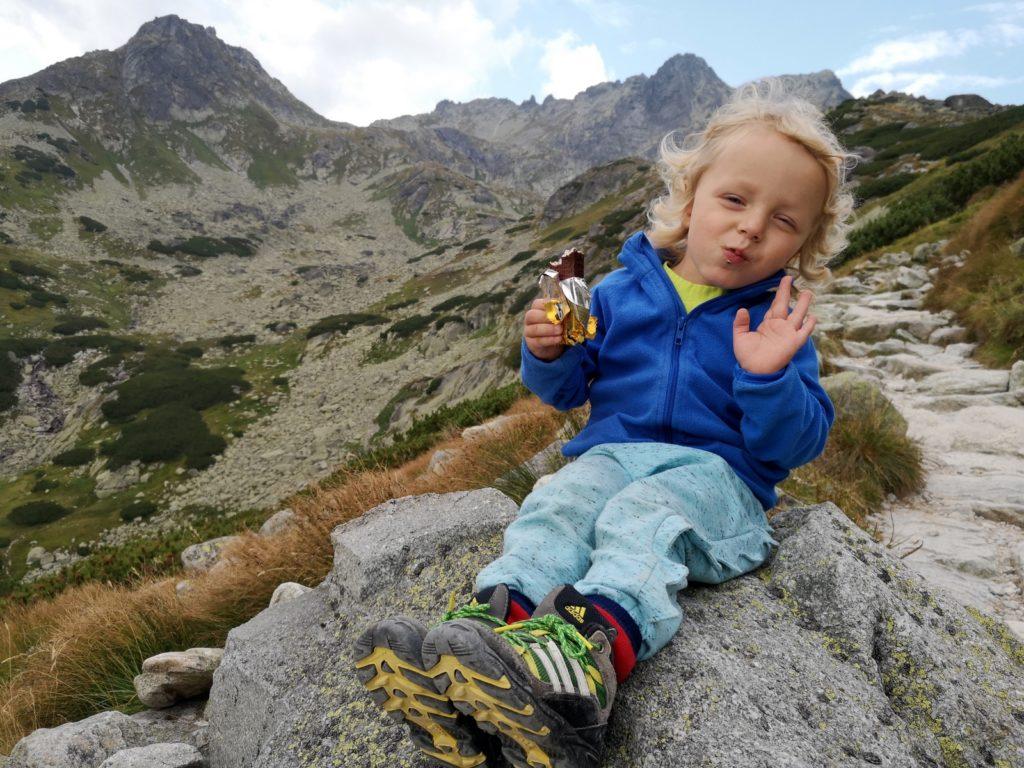 rysy z dziećmi od słowackiej strony