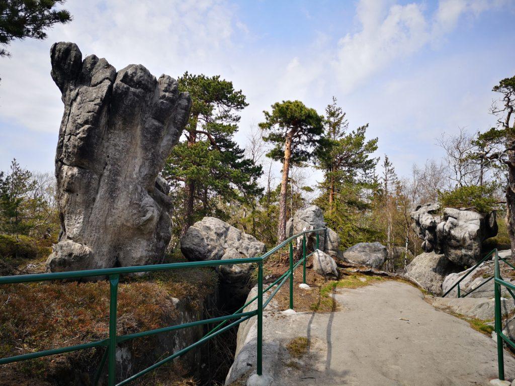 szczeliniec wielki i błędne skały